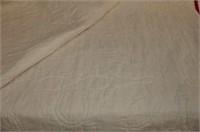 Red-on-Cream Applique Quilt