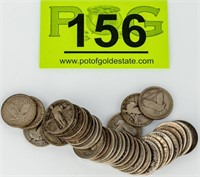 Coin 37 Standing Liberty Quarters Good to Fine