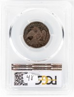 Coin 1835 Bust Quarter PCGS F12
