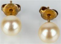 Jewelry 14k Yellow Gold Pearl Necklace, Bracelet +