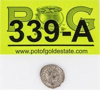 Coin 238-244 AD Silver Ancient Coin Rome