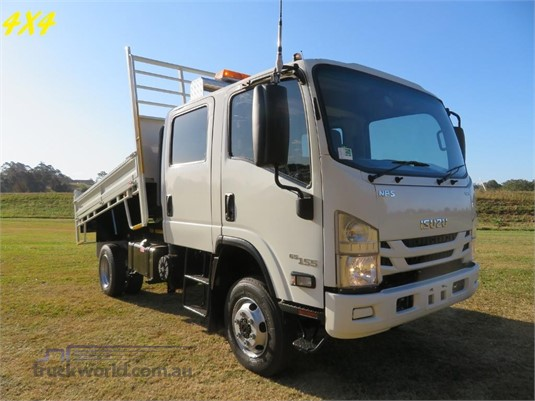 2016 Isuzu NPS 300 4x4 Crew - Trucks for Sale