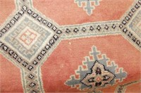 Dusty Rose/Blue/Gray Area Rug