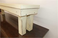 Dining Table w/2 Benches