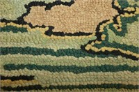 House Hooked Rug