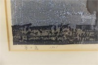 Peacock Print (1961)