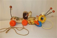 Assorted Pull Toys, Xylophone