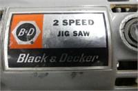 """B&D 2-Speed Jigsaw, King 3/8"""" Electric Drill"""