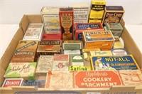 Assorted Boxes - Sala-Jell, Maple Leaf Lard, Sunli
