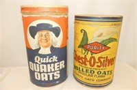 Boxes - Quaker & Purity Oats