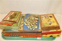Children's Puzzles - Animals, Wood Block