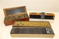 Games - Lotto, Dominoes, Pick Up Sticks, Donkey Pa
