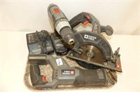 Porter Cable - Circular Saw, Reciprocating Saw, Dr