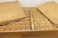Egg Crate w/Trays & Packing