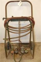 Oxy Acetylene Torch Cart