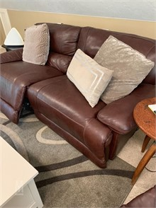 Excellent Brown Power Leather Sofa Recliner Other Items For Sale 1 Onthecornerstone Fun Painted Chair Ideas Images Onthecornerstoneorg