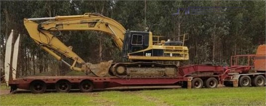 2008 Lusty Widening Low Loader - Trailers for Sale