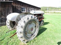 Ford Tractor and Shed Auction