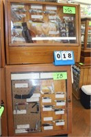 Display Cases w/(39) Assort. Knives,