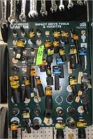 Assort. Impact Drive Tools & Sockets,
