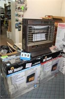 (3) Room Heaters; (1) Propane, (2) Natural Gas,
