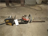 Chainsaw and Hedge Trimmer