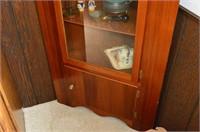 (2) Corner Cabinets