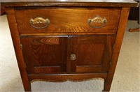 Vintage Wash Stand with Harp