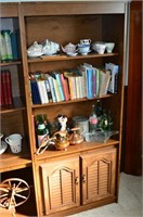 3pc. Wall Unit with Contents