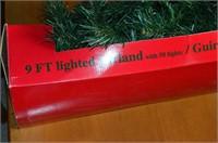 7ft Christmas Tree and Garland