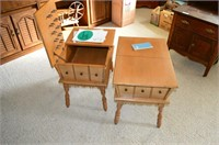 Pair of Vilas Maple End Tables