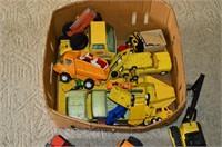 Box of Old Tonka Toys