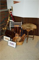 Grp, of Wood Décor, Framed Prints, Christmas