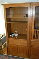 2pc. Mission Style Wall Unit