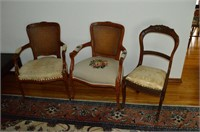 (3) Decorative Chairs