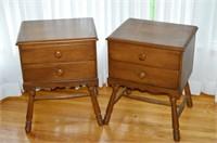Pair of Knechtel End Tables