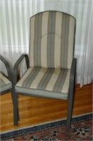 (2) Patio Chairs with Cushions