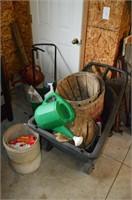 Garden Cart, Spreader, etc.