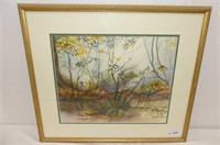 """""""Tangled Wood"""" Water Colour by S.K. Maule"""