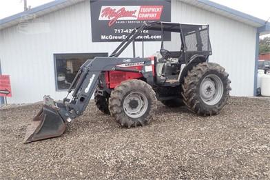 MEY-FERGUSON 5445 4X4 Farm Tractor W/ Loader ... on