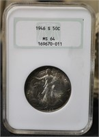 A72 Flying Eagle, 1909-S, Gold, Silver, Jewelry Estate