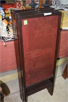 "Victorian Four Fold Dressing Screen 40"" High With"