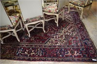 Hand Knotted Wool Estate Carpet 10'X8'