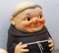 Hummel 9 Pc. Friar Tuck Set Incl Cookie Jar, Sugar