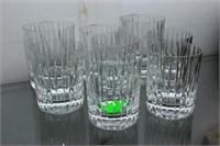 8 Baccarat highball glasses incl. 2 OVERSIZED