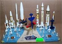 Monogram Model Of United States Missile Arsenal