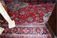 "Hand Knotted Estate Carpet 10'10"" X 14' 4"""