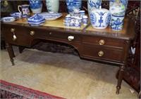 Mahogany Kittinger  Furniture Co. Partner'S Desk W
