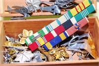 Small Cedar Jewelry Box With Military & Aviation R