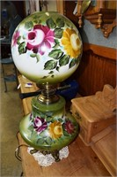 Hand Painted Contemporary Gone With The Wind Lamp
